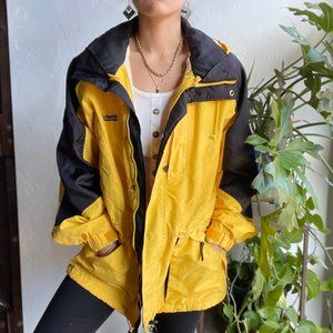 Vintage | Columbia Double Whammy Yellow Coat